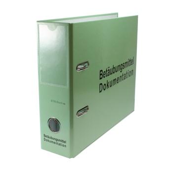 Ringbuch für 18 Personenbezogene BTM Bücher zur Archivierung