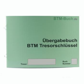Übergabebuch BTM Tresorschlüssel