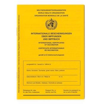 Internationaler Impfausweis gemäß § 22 Infektionsschutzgesetz als Impfbuch 50 Stück